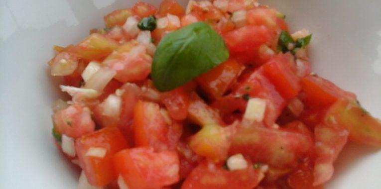 Ensalada de Tomate Receta
