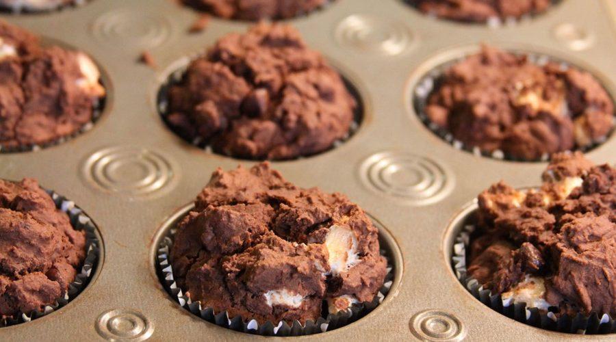 Cupcakes de Malvas y Chocolate