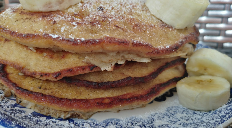 pancakes de banana